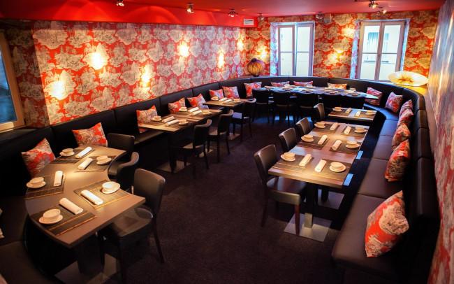 Interieurfoto Restaurant Landshut, Gastronomiefotograf München