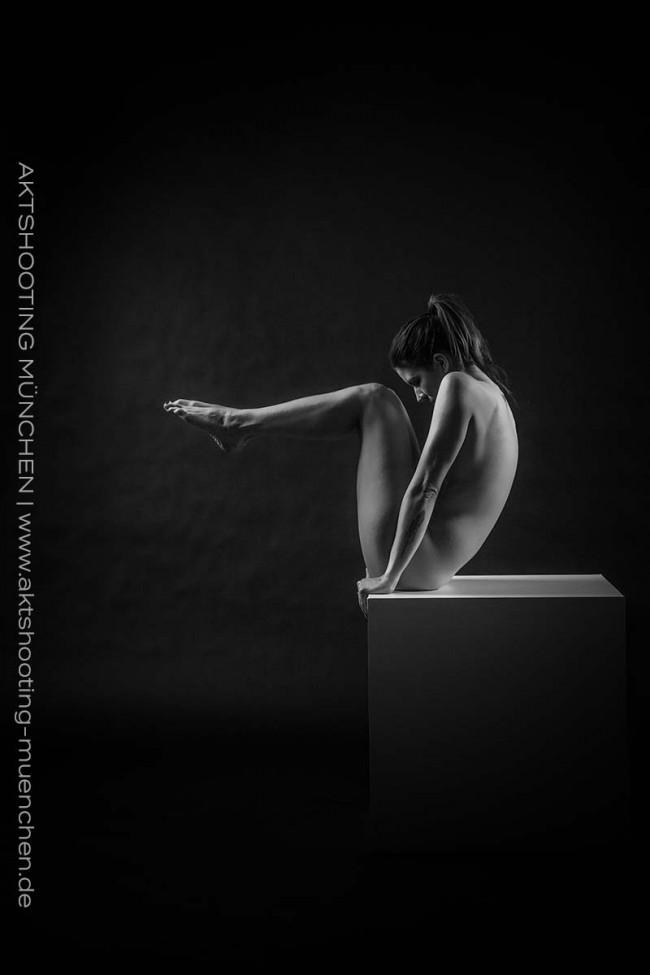 Akrobatischer Akt in Studio München