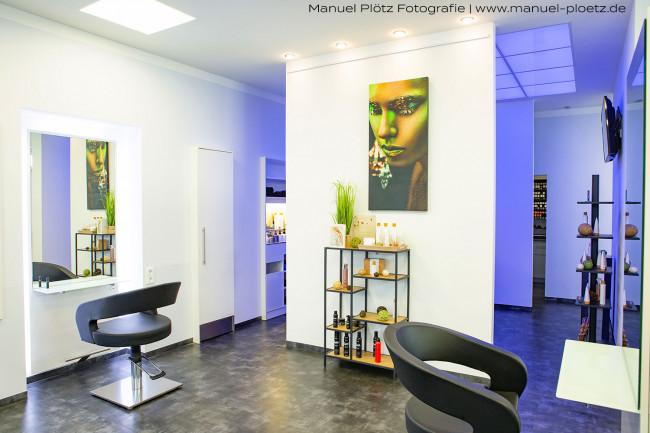 Innenraumfoto Friseur München Architekturfotograf